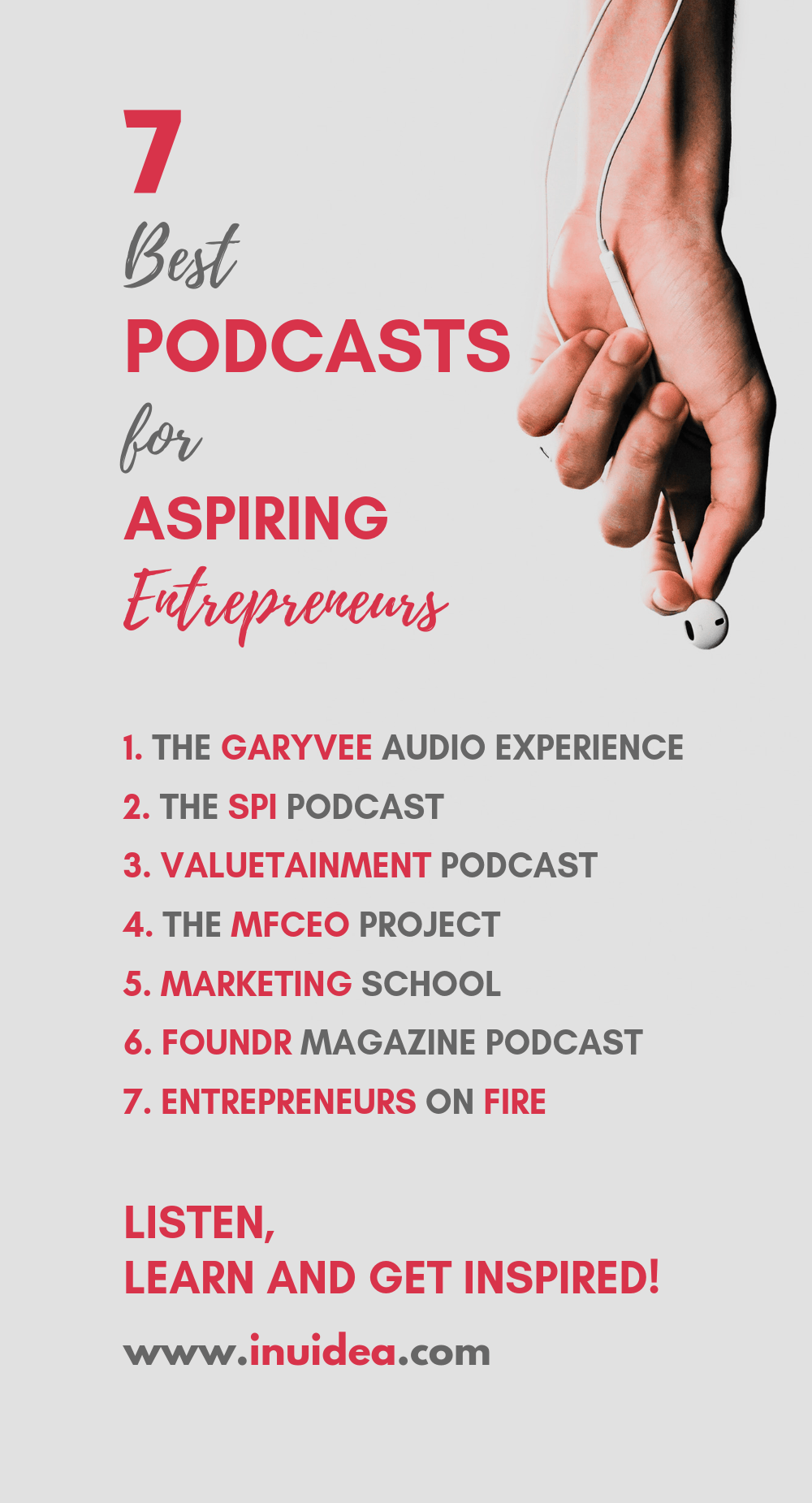7 Best Podcasts for Aspiring Entrepreneurs - Learn and Get Inspired!