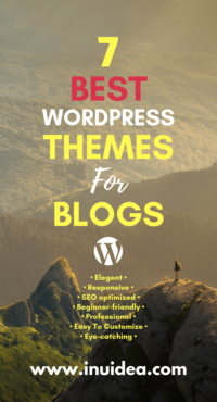 7 Best WordPress Themes for Blogs