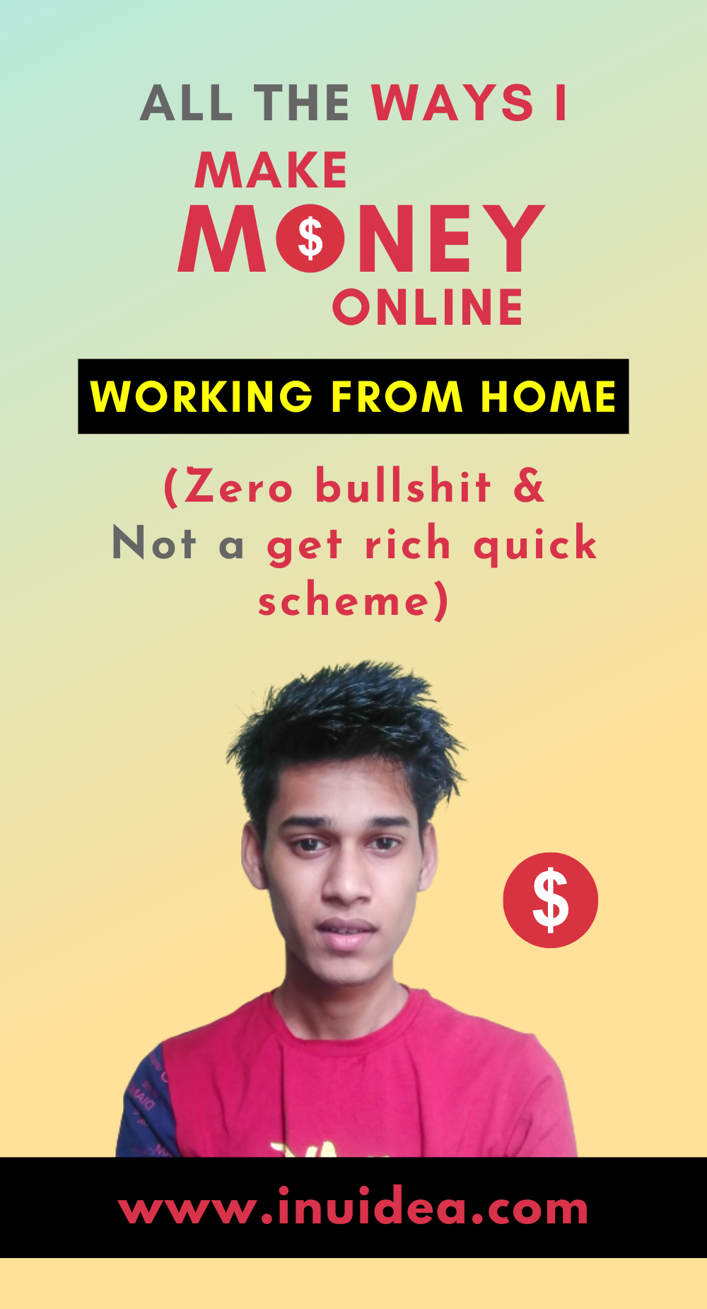 All the ways I make money online by working from home
