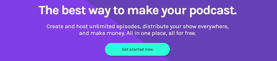Anchor - free podcast hosting
