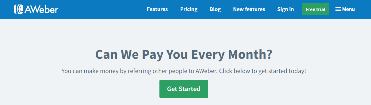 Aweber Referral Program