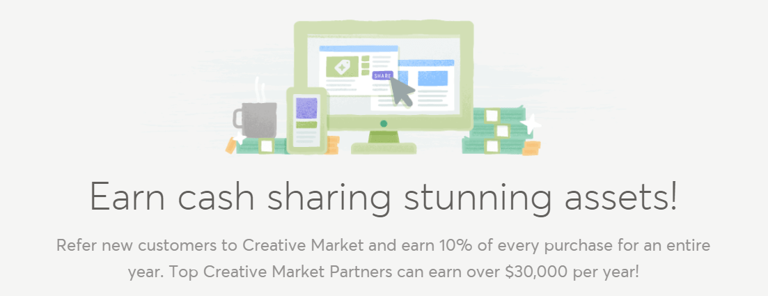 Become an Affiliate Partner Creative Market