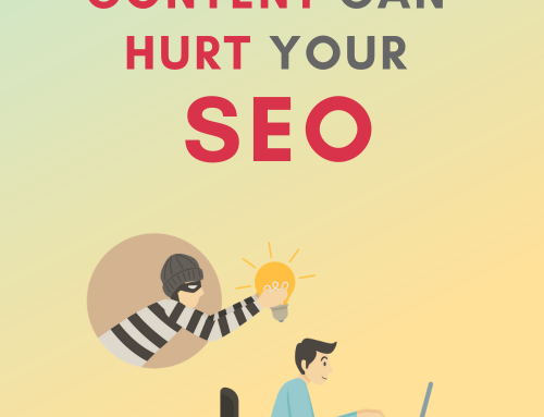 How bad plagiarized content can hurt your SEO