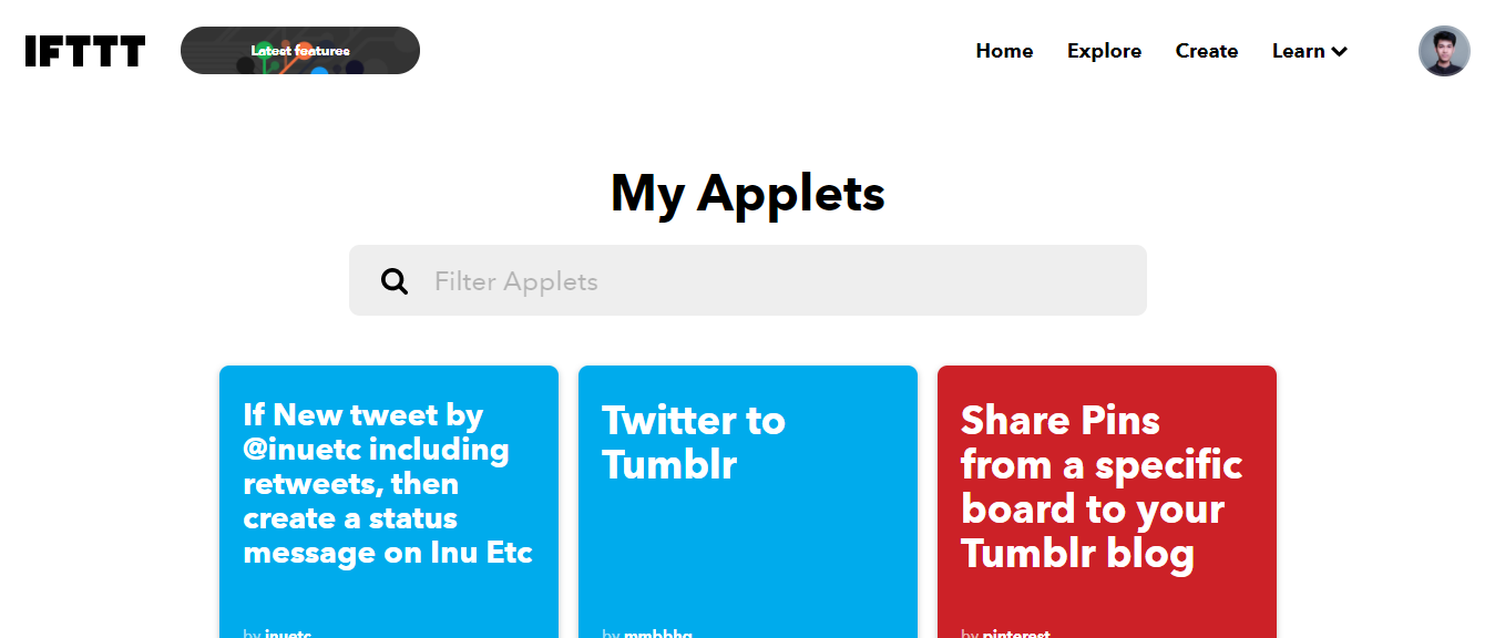 Ifttt-Mobile Apps for Bloggers