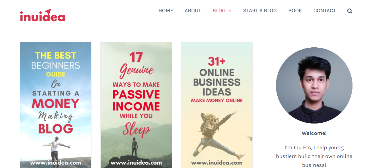 Inuidea by Inu Etc - Learn blogging