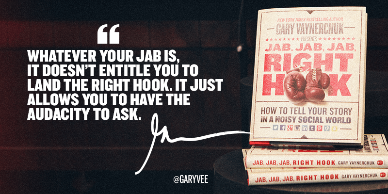 Jab Jab Jab Right Hook by Gary Vaynerchuk