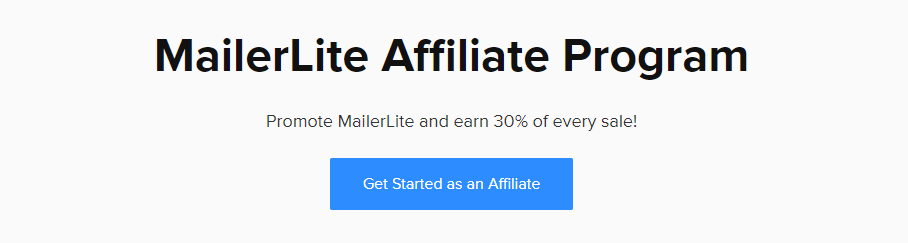 MailerLite Affiliate Program