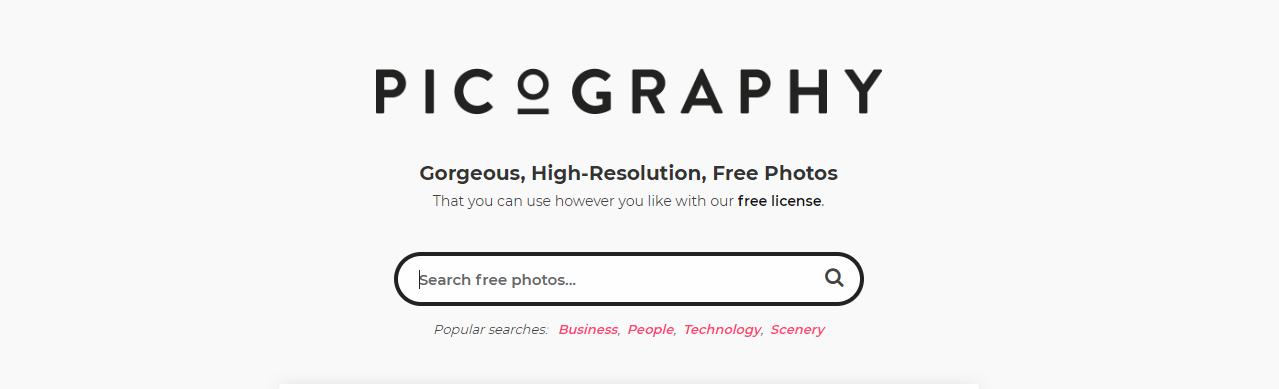 Picography - Gorgeous Free Photos (CC0)