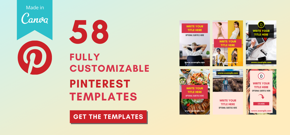 58 Viral Canva Pinterest Templates to Bring Traffic and Sales