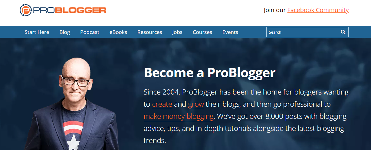 ProBlogger - Blog Tips to Help You Make Money Blogging