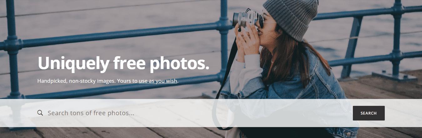 Reshot Uniquely Free Photos