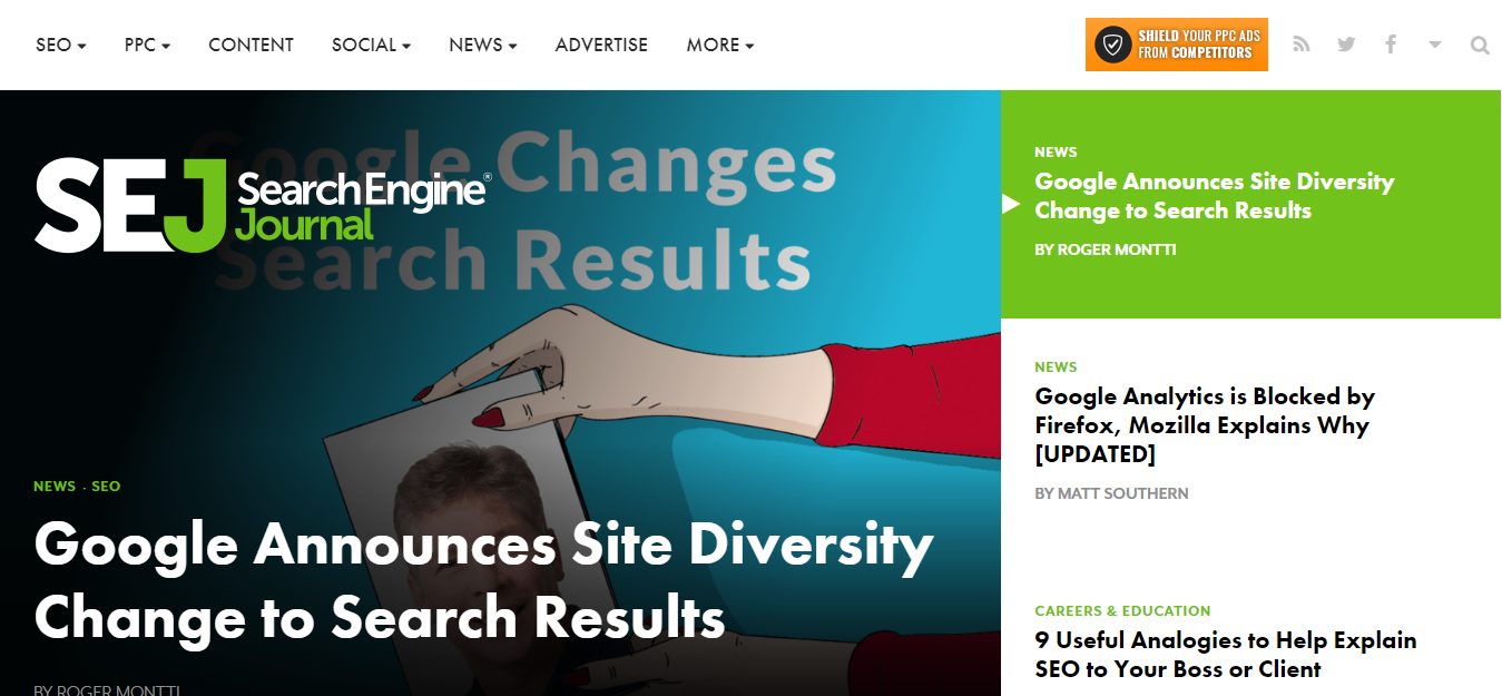 Search Engine Journal - Learn SEO, Content Marketing and stay updated with the latest SEO Trends