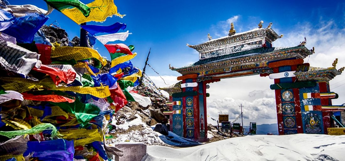 Tawang_Gate - Best hill stations in India