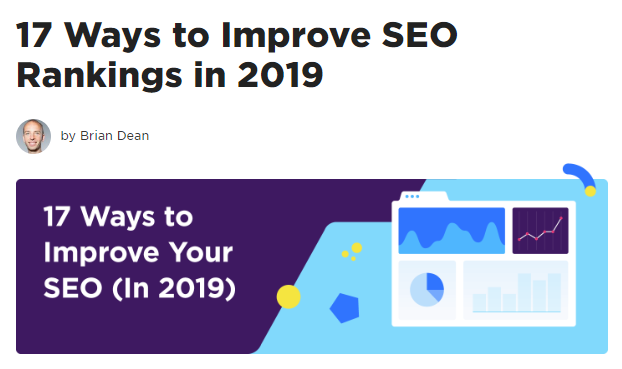 The Backlinko SEO Blog by Brian Dean