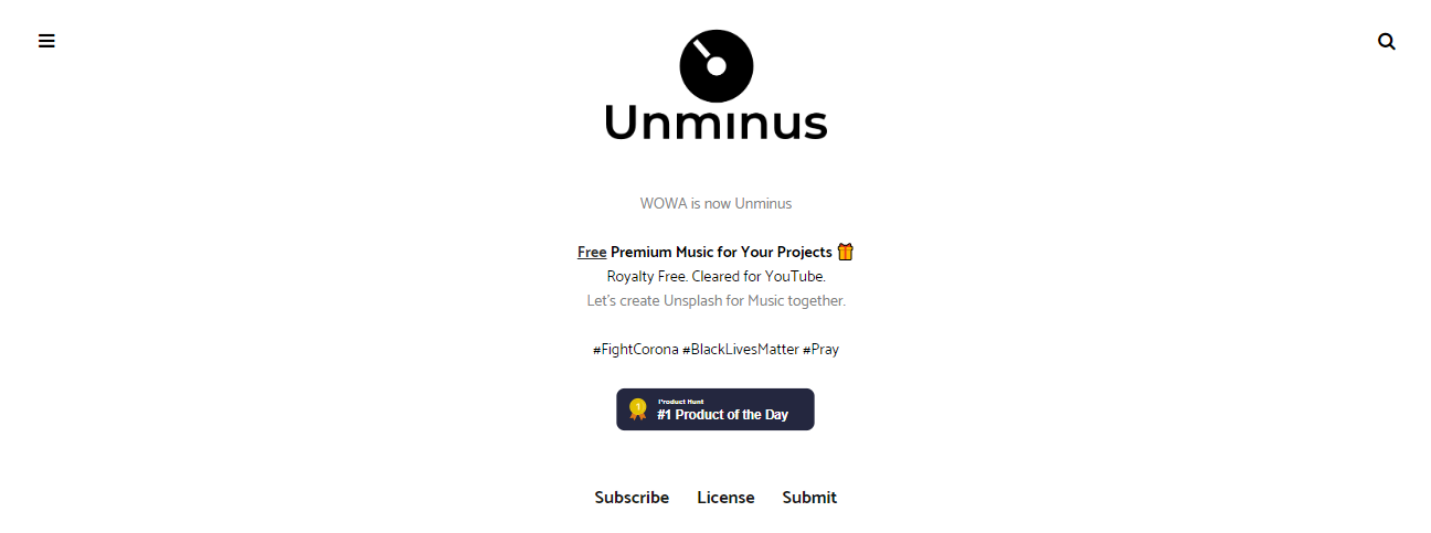 Unminus - download copyright free music
