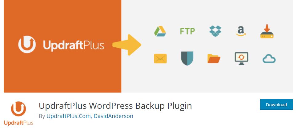 UpdraftPlus - Best free WordPress backup plugin