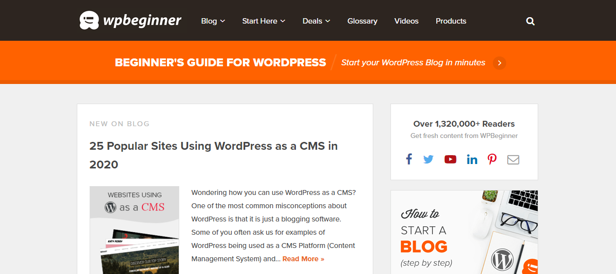WPBeginner - Beginner s Guide for WordPress