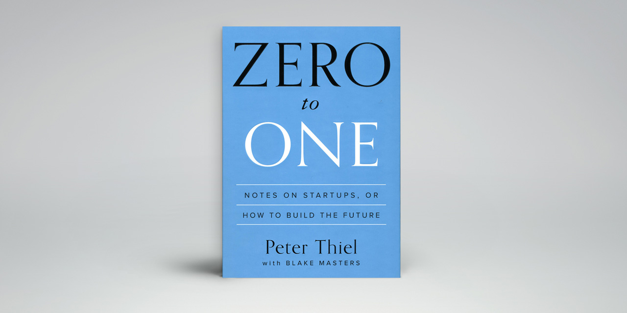 Zero to One - best Books for aspiring entrepreneurs