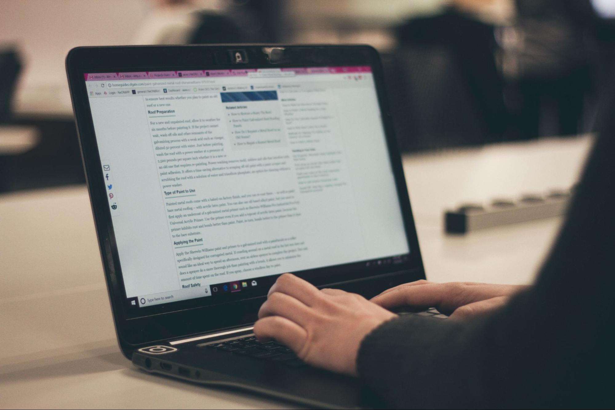 blogging online business