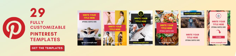 get Pinterest templates