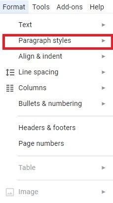 use headers